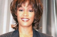 Whitney Houston File Photos - Sony Studios