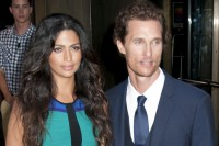 "Matthew McConaughey and Camila Alves - The Cinema Society Host A Screening Of ""Killer Joe"" In New York"
