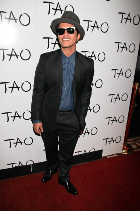 Bruno Mars Concert Afterparty at TAO Nightclub in Las Vegas