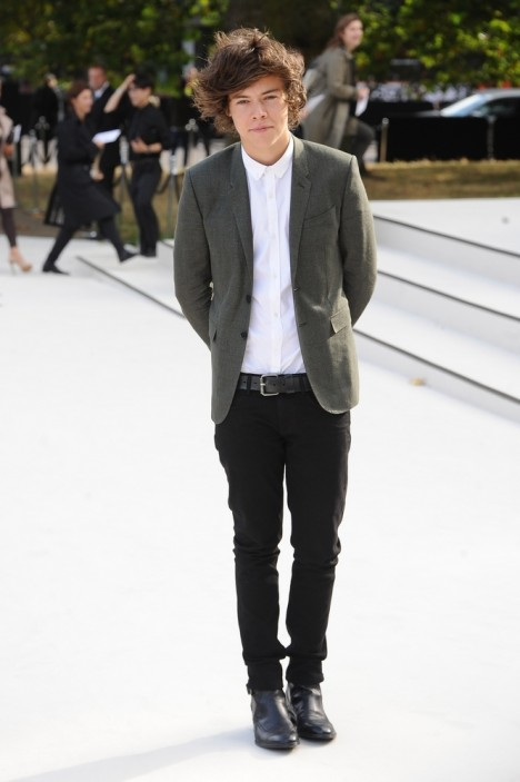 Harry Styles - London Fashion Week Spring/Summer 2013