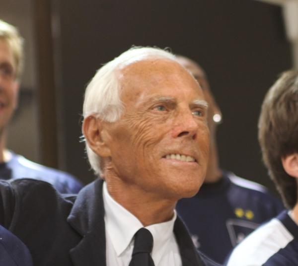 Giorgio Armani, Bruno Cordioli, Lizenz: dts-news.de/cc-by