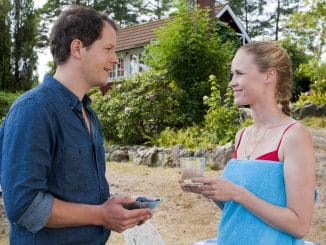 Felix (Mirko Lang) und Lilian Sjöberg (Inez Björg David)