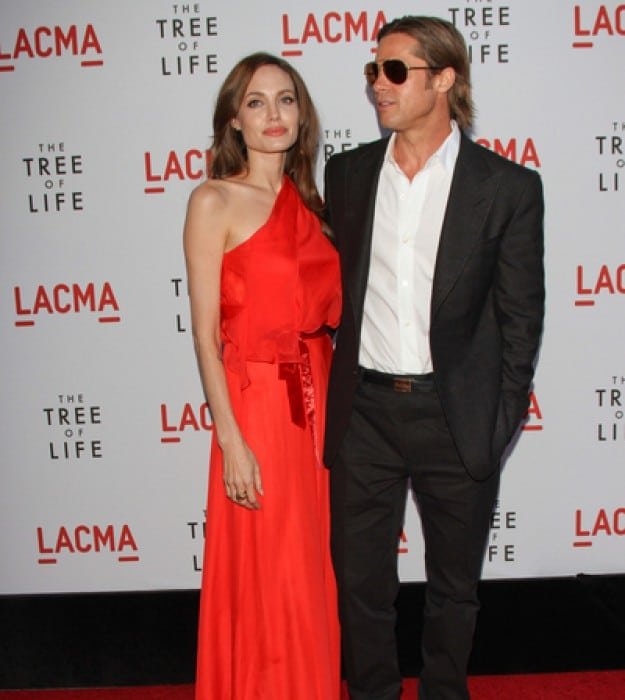 "Angelina Jolie and Brad Pitt - ""The Tree of Life"" Los Angeles Premiere"