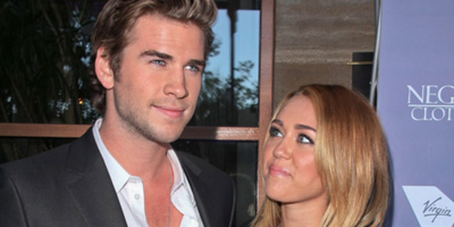 Liam Hemsworth and Miley Cyrus - Australians in Film Awards & Benefit Dinner 2012