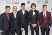 The Wanted - Tom Parker, Max George, Siva Kaneswaran, Jay McGuiness and Nathan Sykes