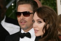 Brad Pitt and Angelina Jolie - 68th Annual Golden Globe Awards