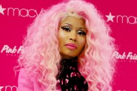 "Nicki Minaj ""Pink Friday"" Fragrance Launch at Macy's Queens Center Mall in New York City"
