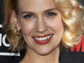 "January Jones - ""Mad Men"" Season 5 TV Series Los Angeles Premiere"