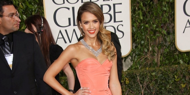 Jessica Alba - 70th Annual Golden Globe Awards