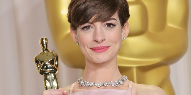 Anne Hathaway - 85th Annual Academy Awards