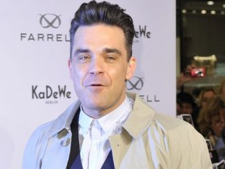 "Robbie Williams Launches His ""Farrell"" Men's Fashion Label at KaDeWe"
