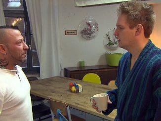 Fabrizio (li.) und Ole bei Berlin Tag und Nacht