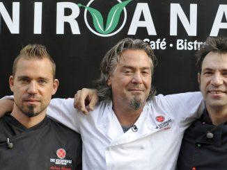 Andi Schweiger (li.), Frank 'Fo' Oehler und Ole Plogstedt (re.)