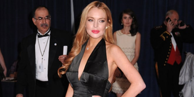 Lindsay Lohan - 2012 White House Correspondents' Association Dinner