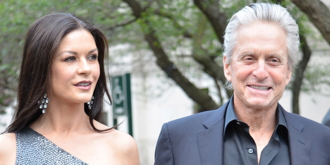 Catherine Zeta Jones and Michael Douglas - 11th Annual Tribeca Film Festival
