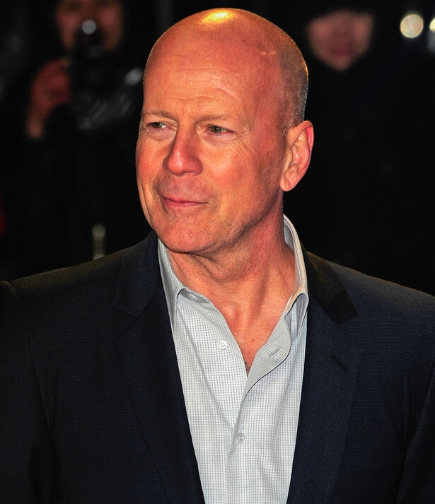 """Bruce Willis - """"A Good Day to Die Hard"""" UK Premiere - Arrivals"""
