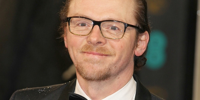 Simon Pegg - EE British Academy Film Awards 2013