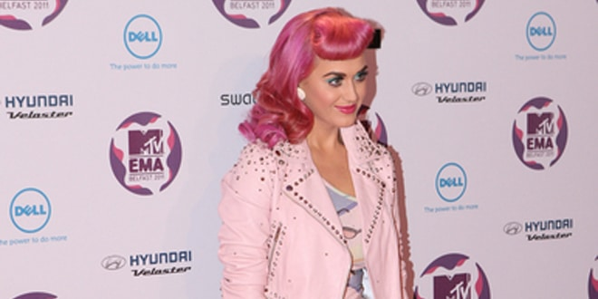 Katy Perry - 2011 MTV Europe Music Awards - Arrivals