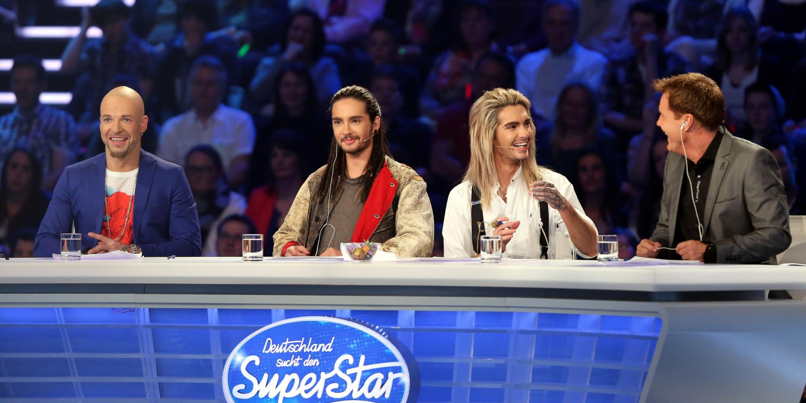 DSDS 2013: Hat Dieter Bohlen von Bill Kaulitz, Mateo und Tom Kaulitz die Nase voll? - TV News