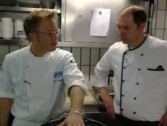 Küchenchef Mario Kotaska, Geschäftsführer Eddy Rolinger
