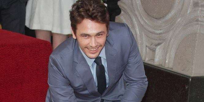 James Franco Honored with a Star on the Hollywood Walk of Fame on March 7, 2013 0803