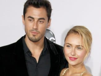 Scotty McKnight and Hayden Panettiere - 40th Anniversary American Music Awards