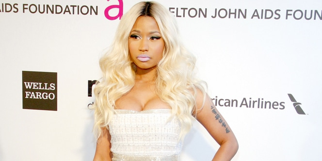 Nicki Minaj - 21st Annual Elton John AIDS Foundation Academy Awards Viewing Party