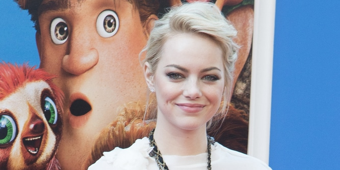 "Emma Stone - ""The Croods"" New York City Premiere"