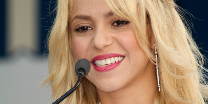 Shakira Honored with a Star on the Hollywood Walk of Fame