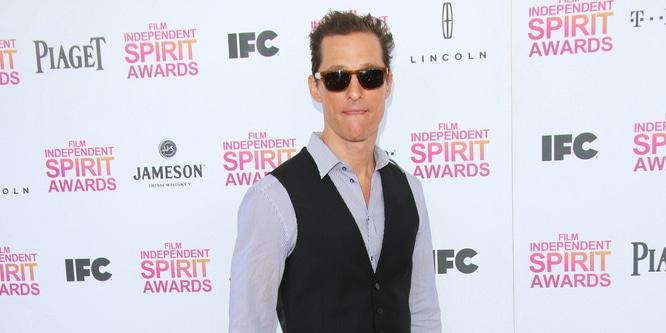 Matthew McConaughey - 2013 Film Independent Spirit Awards