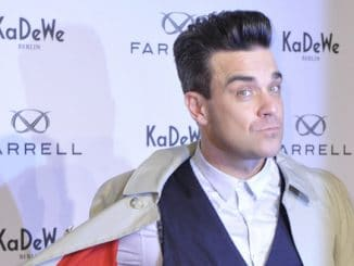 "Robbie Williams Launches His ""Farrell"" Men's Fashion Label"