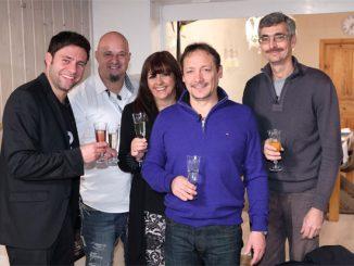 V.l.: Clausi, Detlef, Marion, Ingo und Ralf