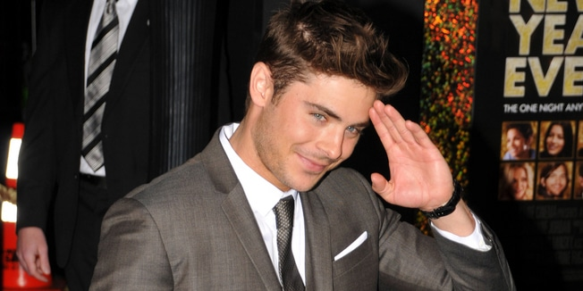 "Zac Efron - ""New Year's Eve"" Los Angeles Premiere"