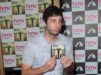 """Example - Example """"The Evolution of Man"""" CD Launch at HMV in London on November 18, 2012"""