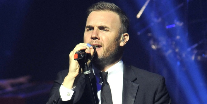 Gary Barlow New Year's Eve Concert at the New Theatre in Oxford