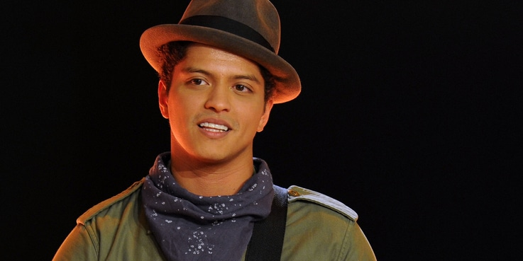 "Bruno Mars - ""Wetten, Dass..?"" Game and Entertainment Television Series"