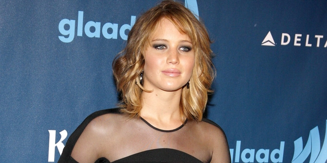 Jennifer Lawrence - 24th Annual GLAAD Media Awards
