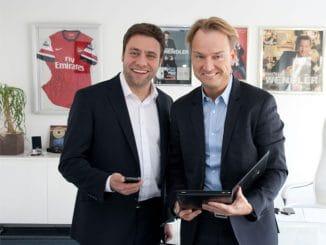 Claus erhält für seine kleine Firma Unterstützung von seinem Vorbild, dem Großveranstalter Markus Krampe.