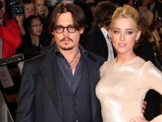"Johnny Depp and Amber Heard - ""The Rum Diary"" European Premiere"