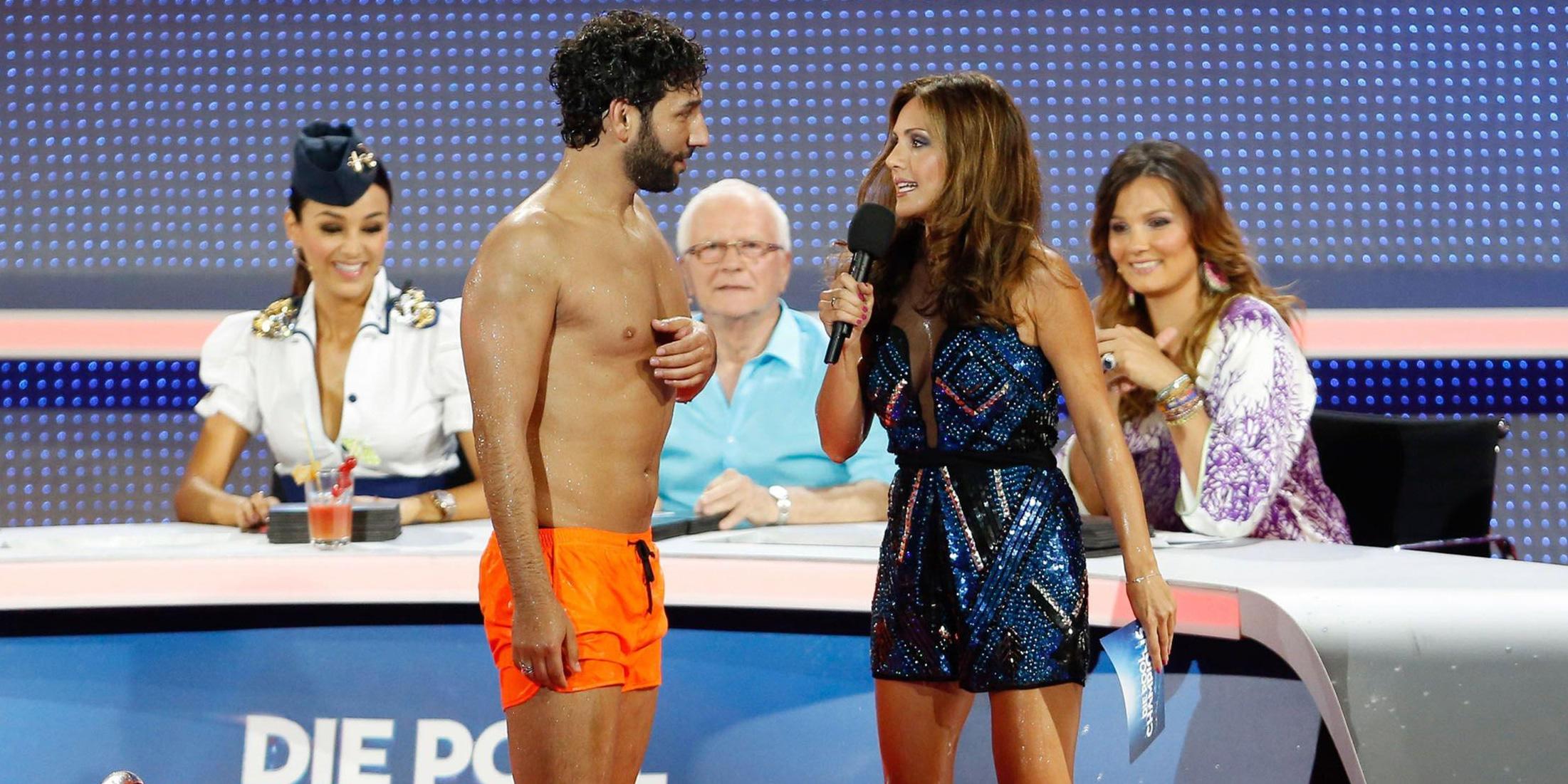 Die Pool Champions: Wird Massimo Sinató sich die Beine rasieren? - TV News