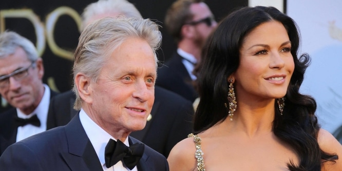 Michael Douglas and Catherine Zeta Jones - 85th Annual Academy Awards