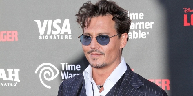 "Johnny Depp - Disney's ""The Lone Ranger"" World Premiere"