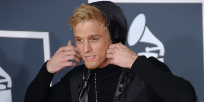 Aaron Carter - 52nd Annual GRAMMY Awards