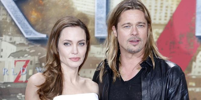 "Brad Pitt and Angelina Jolie - ""World War Z"" Germany Premiere"