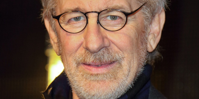 Steven Spielberg - Sumner M. Redstone Production Building Dedication Ceremony at USC