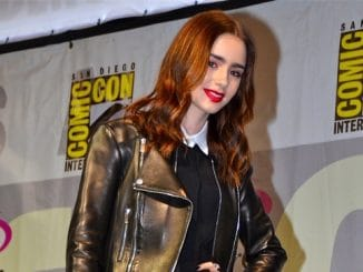 Lily Collins - WonderCon 2013 Day 2
