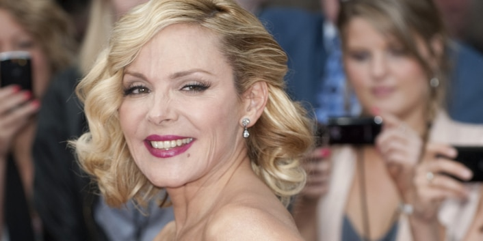 Kim Cattrall - Sex And The City 2 - UK Premiere