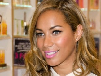 Leona Lewis Photocall at The Body Shop in London on March 27, 2013 thumb