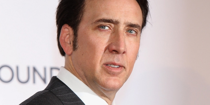 "Nicolas Cage - ""The Frozen Ground"" UK Premiere - Arrivals"