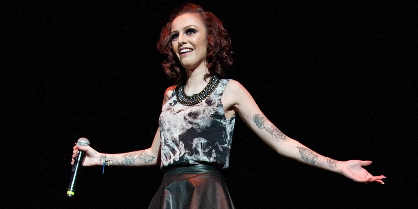 Cher Lloyd - 94.5 PST's PopFest 2013 at the Sun National Bank Center in Trenton
